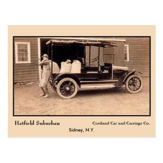 Camión americano antiguo Hatfield Sydney NY Postales