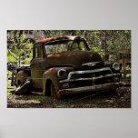 Camión antiguo impresiones