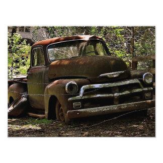 Camión antiguo fotografías