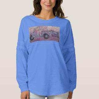 camión azul de la pátina de la belleza antigua