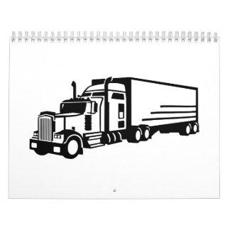 Camión Calendario De Pared