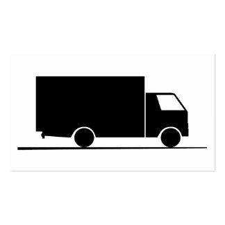 Camión - Camión (08) Tarjetas De Visita
