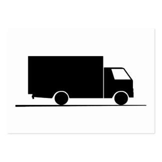 Camión - Camión (08) Tarjetas De Visita Grandes
