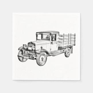 camión chevy 1929 ejemplo del cuerpo de la servilleta desechable