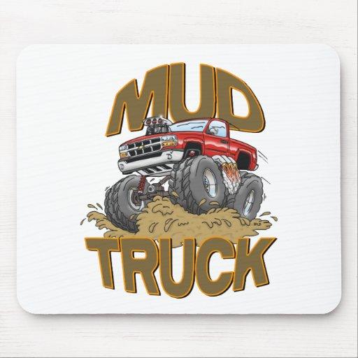 Camión Chevy del fango Alfombrillas De Ratón