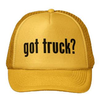 ¿camión conseguido? gorros