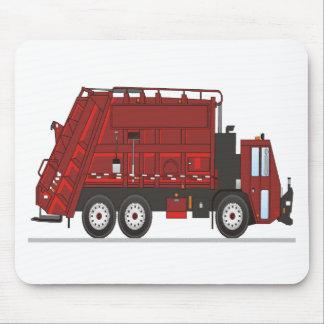 Camión de basura alfombrilla de ratones