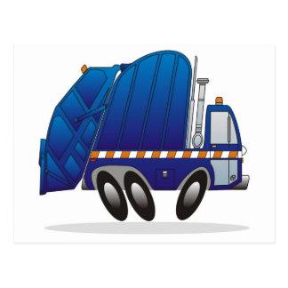 Camión de basura B Tarjetas Postales