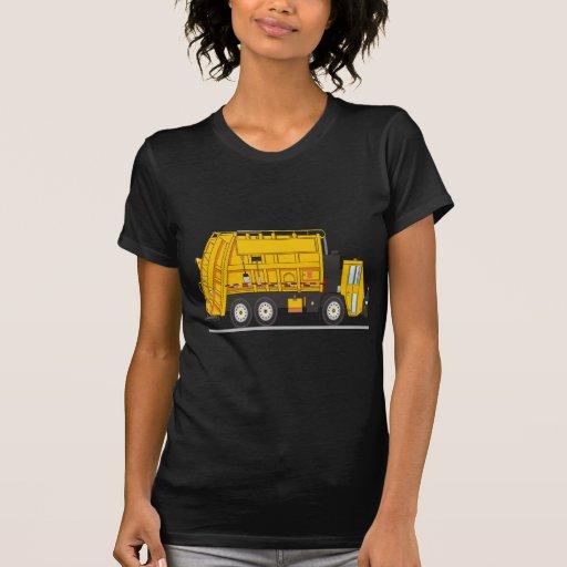 Camión de basura camiseta