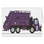 Camión de basura felicitación