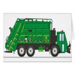 Camión de basura felicitaciones