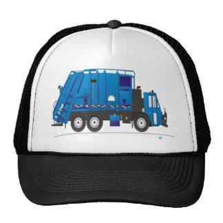 Camión de basura gorras de camionero