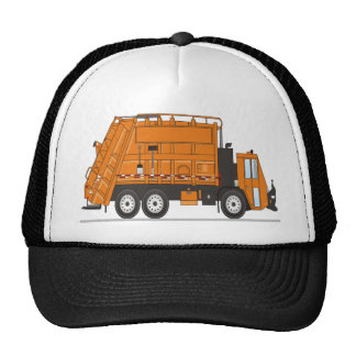 Camión de basura gorro de camionero