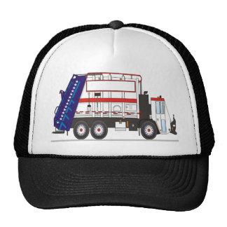 Camión de basura gorros