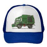 Camión de basura lindo del camión de basura gorras de camionero