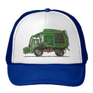 Camión de basura lindo del camión de basura gorro
