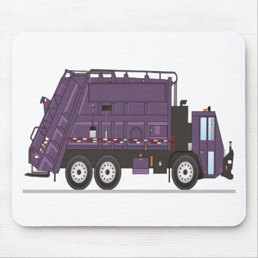 Camión de basura mousepads