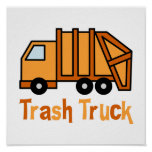 Camión de basura poster