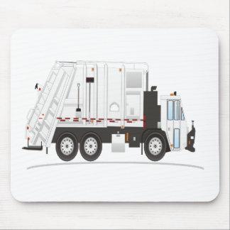 Camión de basura tapete de raton