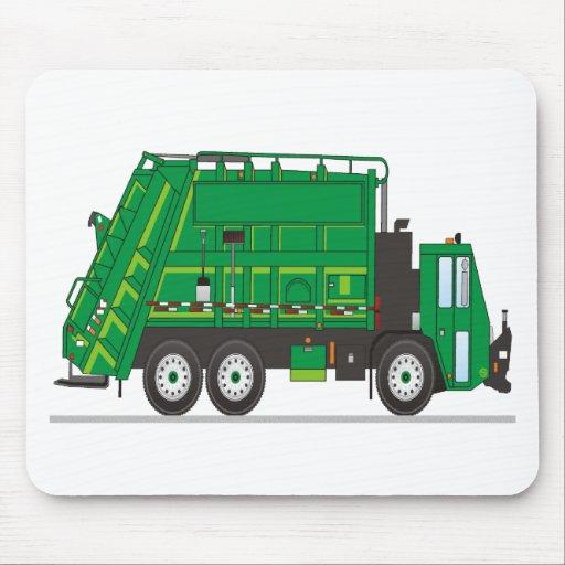 Camión de basura tapete de ratones