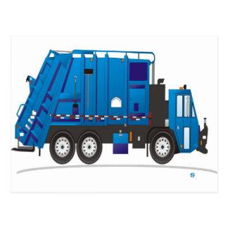 Camión de basura postal