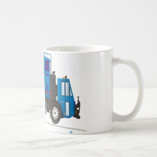 Camión de basura tazas