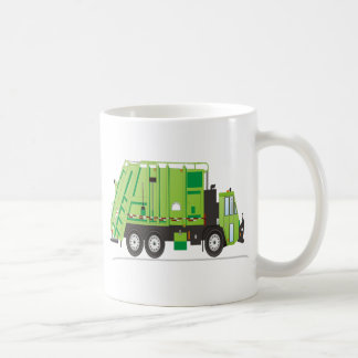 Camión de basura taza clásica