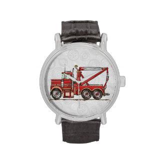 Camión de camión de auxilio lindo reloj de mano