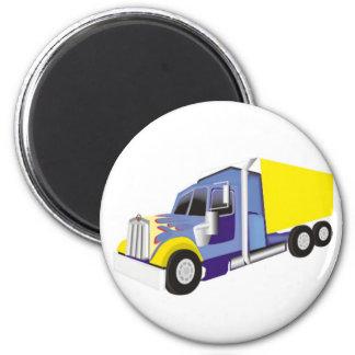Camión de carga imán redondo 5 cm