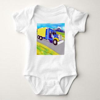 Camión de carga mameluco de bebé