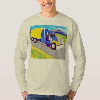 Camión de carga playeras