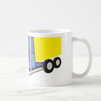 Camión de carga taza clásica