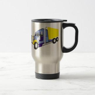 Camión de carga taza térmica