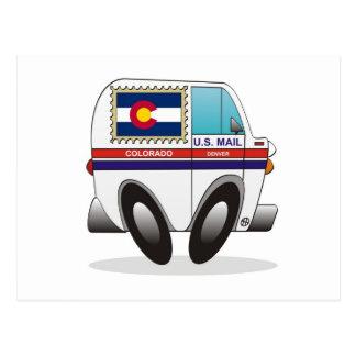 Camión de correo COLORADO Postales