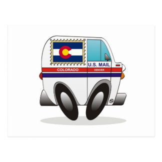 Camión de correo COLORADO Postal