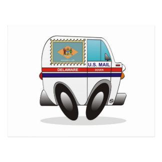 Camión de correo DELAWARE Tarjetas Postales