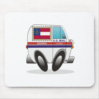 Camión de correo GEORGIA Alfombrillas De Raton