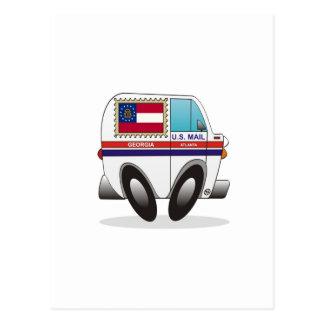 Camión de correo GEORGIA Tarjetas Postales