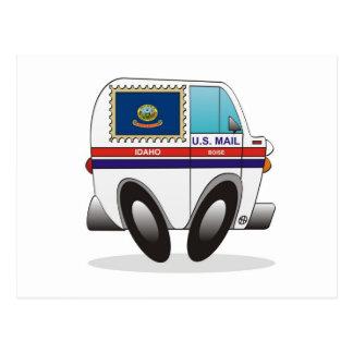 Camión de correo IDAHO Postales