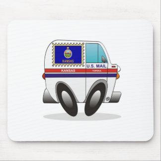 Camión de correo KANSAS Alfombrillas De Ratón