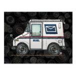 Camión de correo lindo tarjeta postal