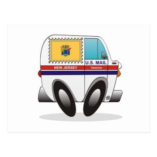 Camión de correo NEW JERSEY Postal