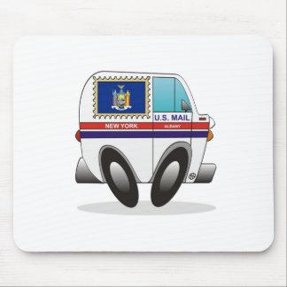 Camión de correo NUEVA YORK Alfombrilla De Ratón