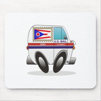 Camión de correo OHIO Tapetes De Ratón
