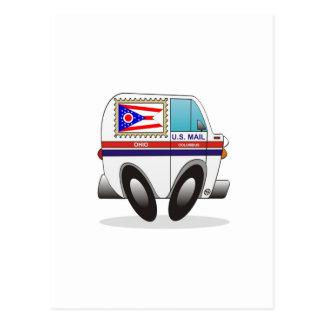 Camión de correo OHIO Tarjeta Postal