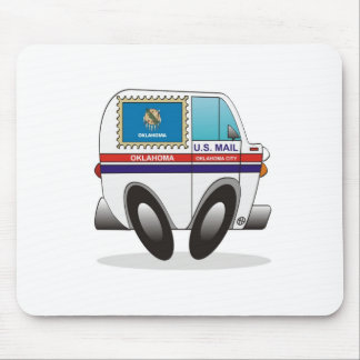 Camión de correo OKLAHOMA Tapete De Ratón