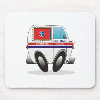 Camión de correo TENNESSEE Alfombrillas De Raton