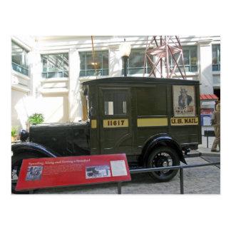 Camión de correo viejo Smithsonian Muesum postal n