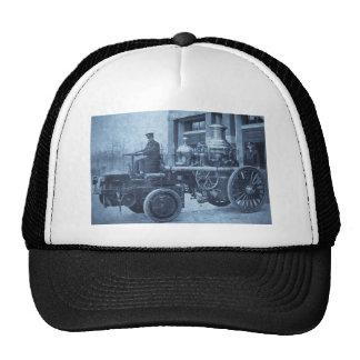 Camión de la autobomba del coche de bomberos del v gorro de camionero