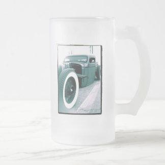 camión de la barra de la rata jarra de cerveza esmerilada